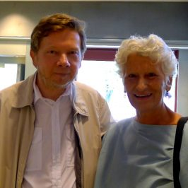 Марина Боррузо и Экхарт Толле
